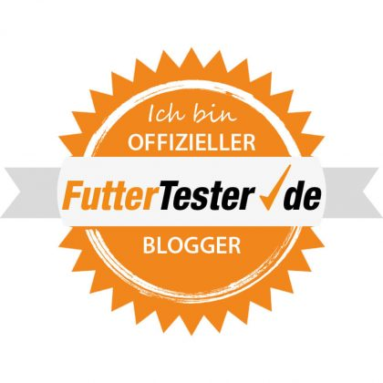 Futtertester Blogger Siegel
