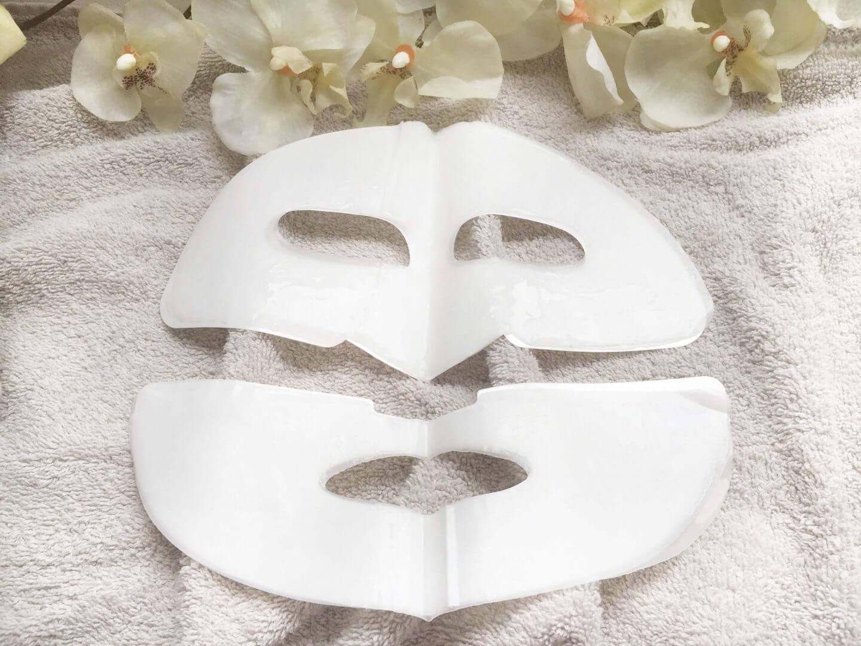 Koniveo Maske besteht aus zwei Teilen