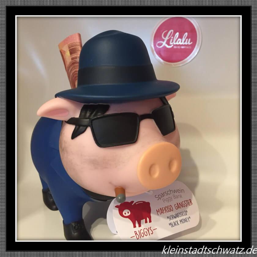 Lilalu Mafioso Sparschwein