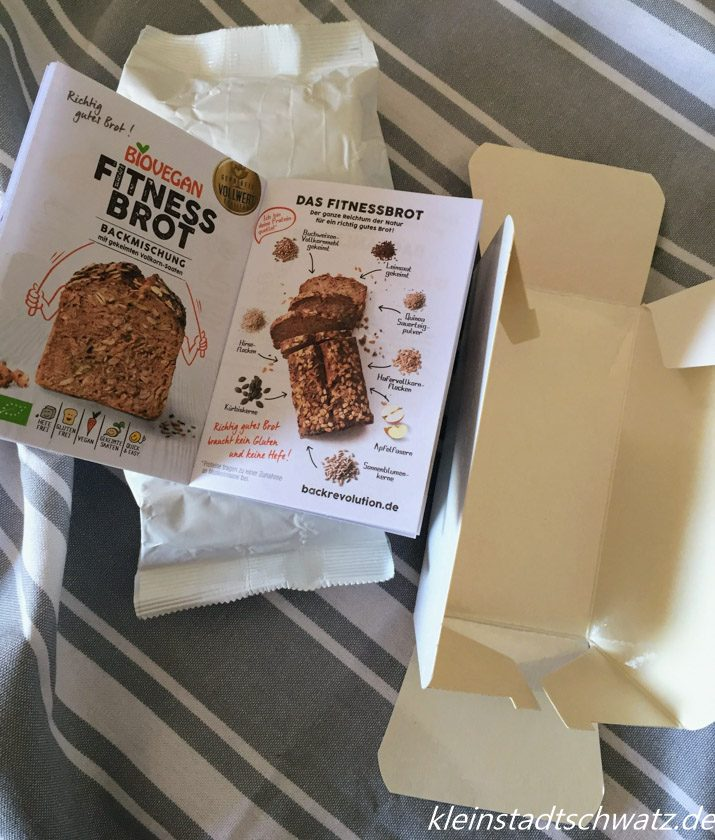 Fitness Brot Packungsinhalt