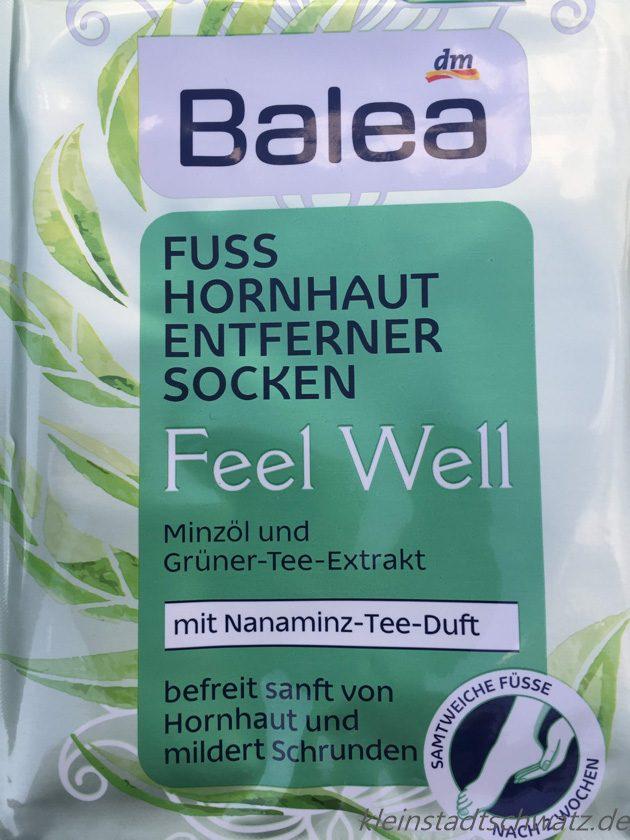 Feel Well Hornhaut Entferner Socken