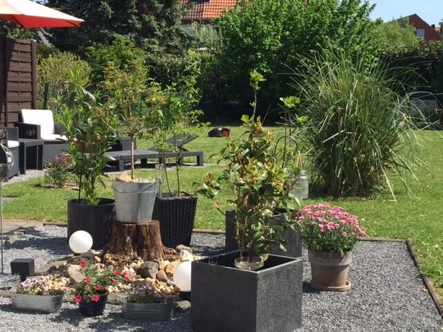 Garten mit Worx Landroid