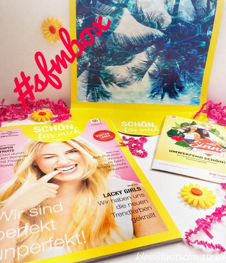 Schön für mich Box Beauty Magazin