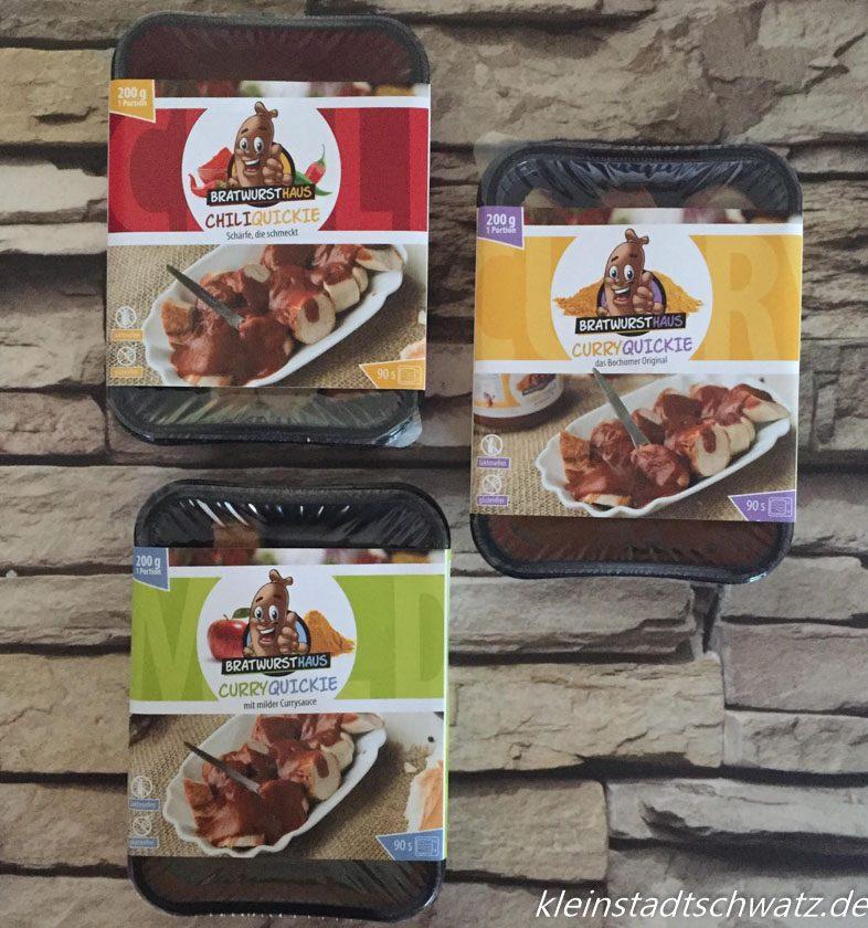 Bratwursthaus Curry Quickies 3 verschiedene Sorten