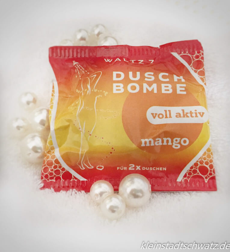 Duschbombe von Waltz Mango
