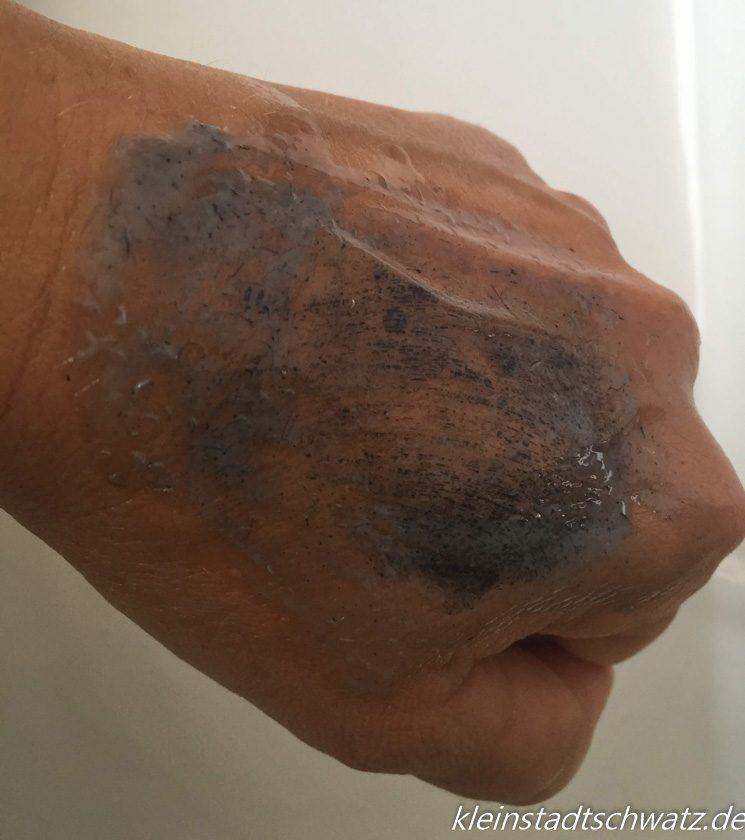 Mascara entfernen mit Eucerin Hand Waschöl