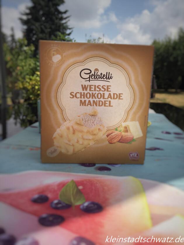 Weisse Schokolade Mandel