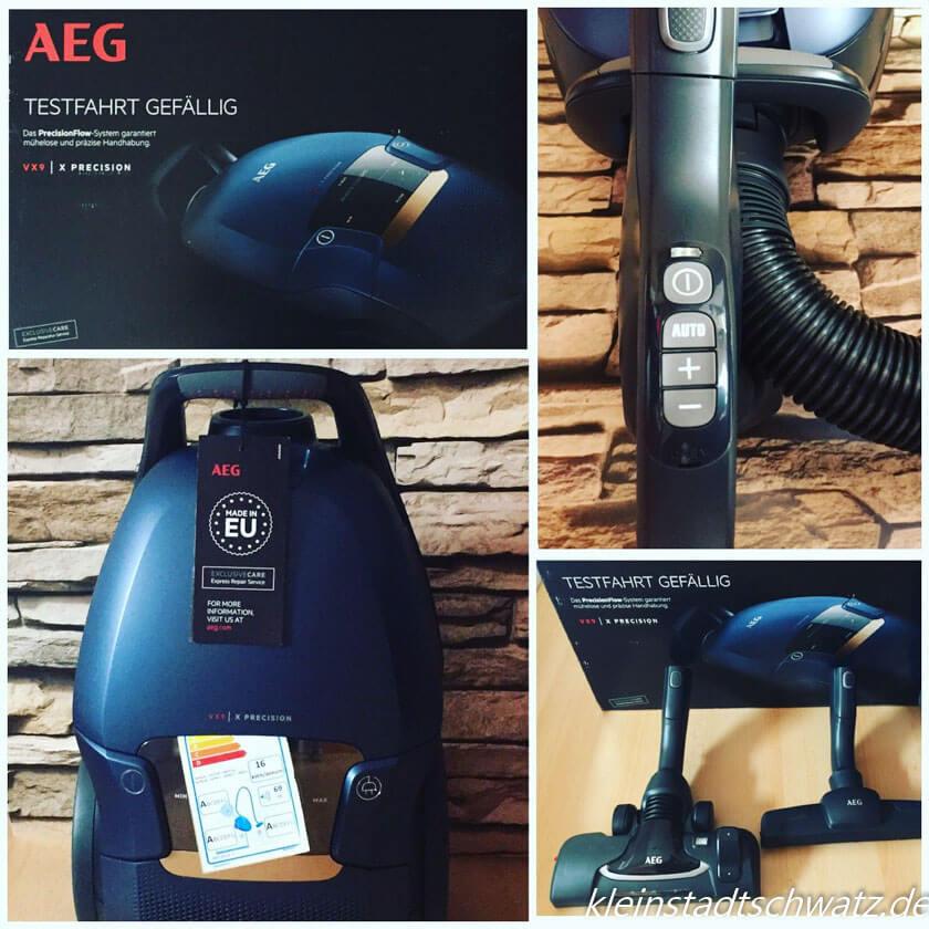 AEG VX9 Bodenstabsauger - mein Testpaket ist angekommen