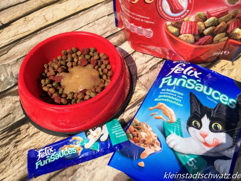 Felix Funsauces auf Felix Crunchy und Soft