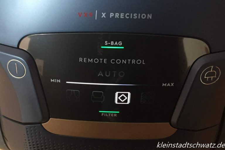 Remote Control Display - Teppich Modus