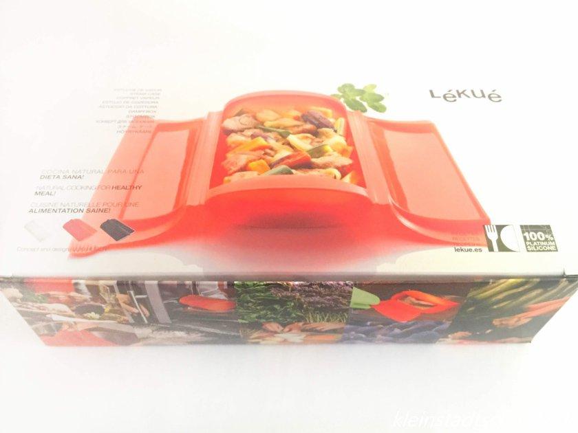 Dampfbox von Lékué Umverpackung