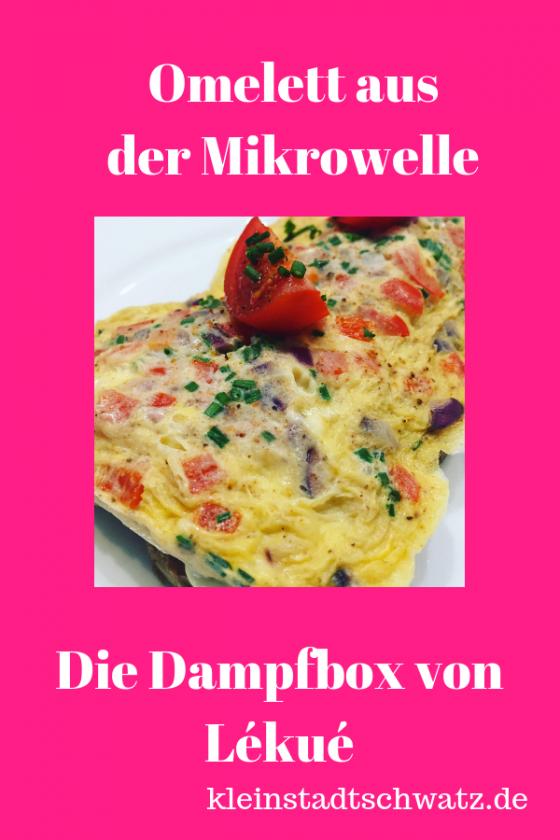 Omelett aus der Mikrowelle Pin