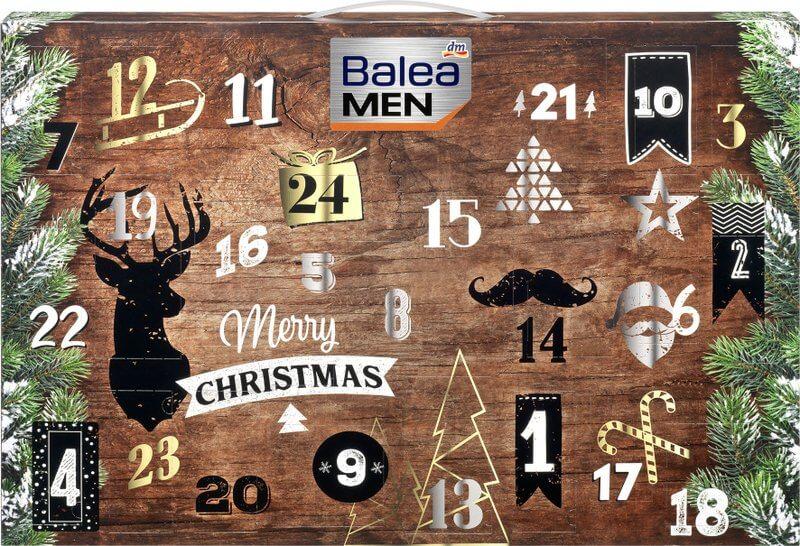 Adventskalender von Balea MEN
