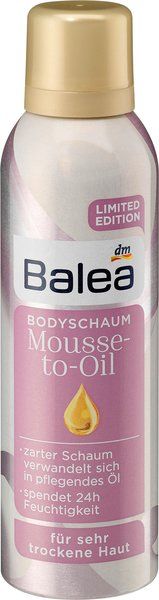 balea Bodyschaum mousse-to-oil