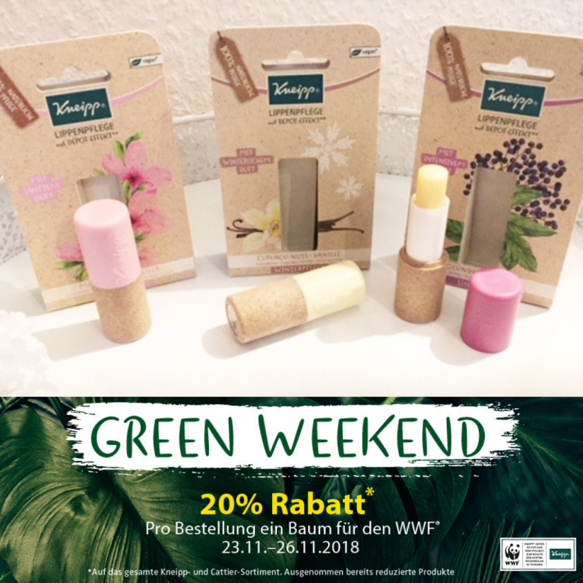 Green Weekend bei Kneipp