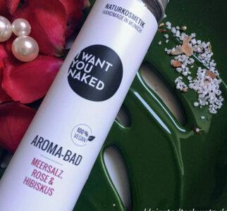 I Want You Naked – Aroma Bad mit Meersalz, Rose und Hibiskus