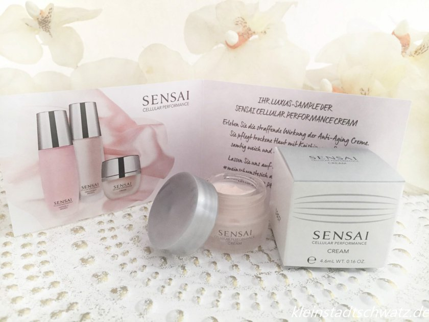 Sensai Cellular Performance Cream Luxus-Probe