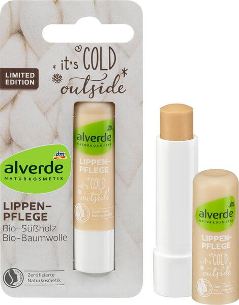 alverde lippenpflege it's cold outside