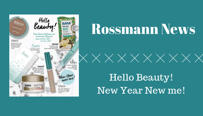 Rossmann News Hello Beauty! New Year New me!