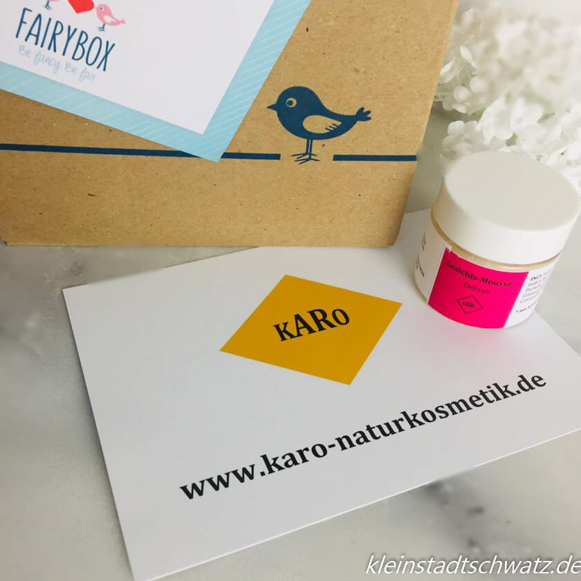 Fairybox - unboxing -karo naturkosmetik