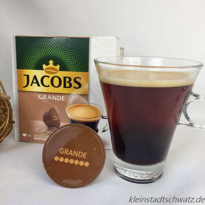Jacobs Grande im Glas