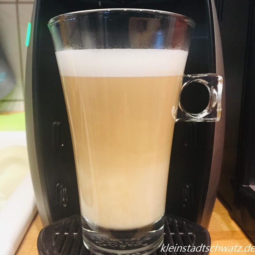 Jacobs Latte Macchiato im Glas