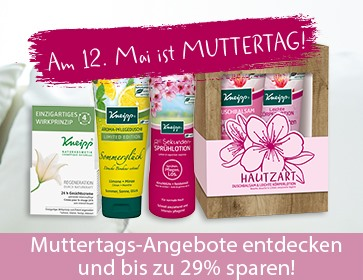 Muttertags-Aktion bei Kneipp