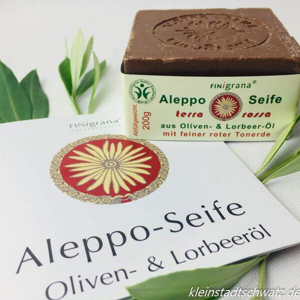 Aleppo Seife Terra Rossa von Finigrana