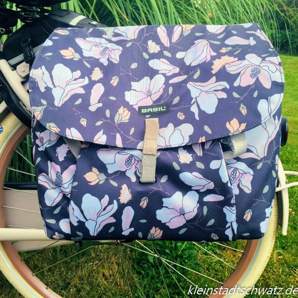 Basil Magnolia Double Bag - Einkäufe lassen sich darin sicher transportieren