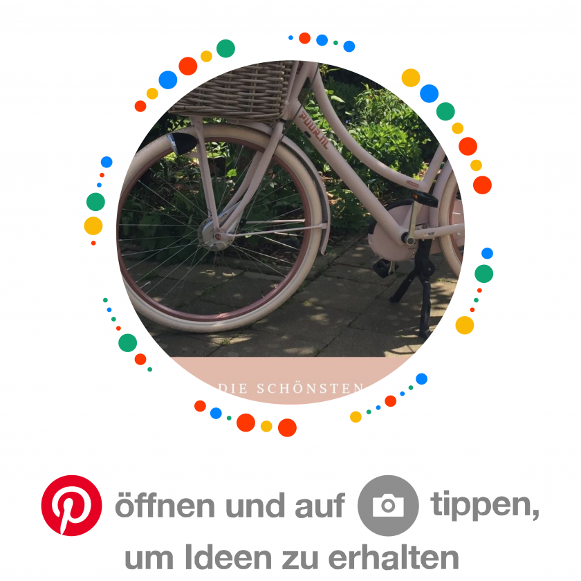 Dieser Pinncode führt zu meiner Pinnwand Fahrrad auf Pinterest