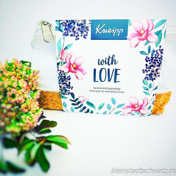 "Geschenkpackung ""With love"""