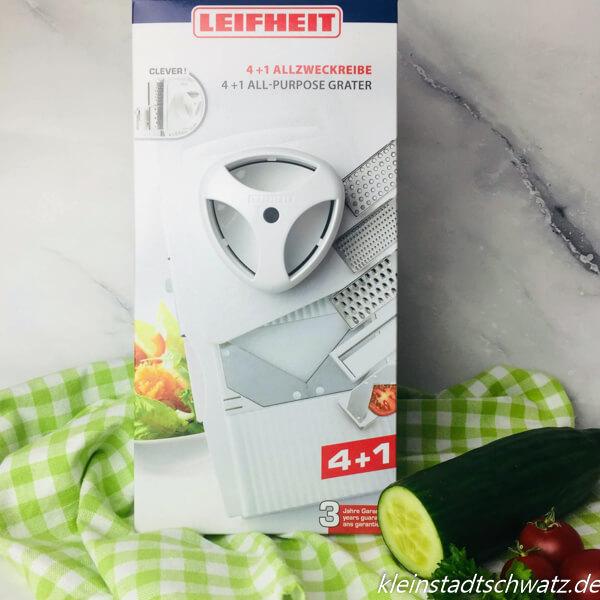 Leifheit 4+1 Allzweckreibe in Original-Verpackung