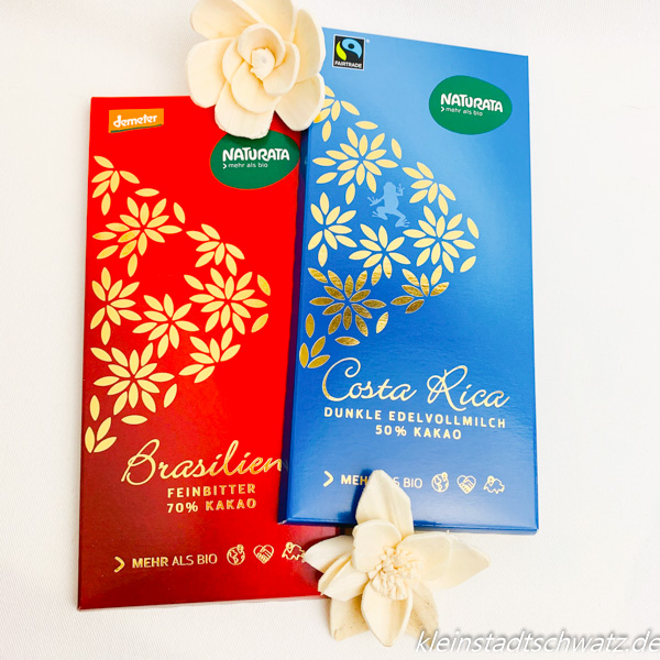 Naturata Bio Schokolade Brasilien und Costa Rica