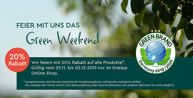 Kneipp Green Weekend