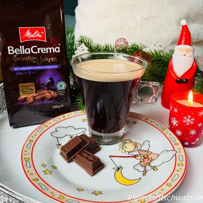 Melitta Bella Crema Selection des Jahres 2020 mit dunkler Schokolade