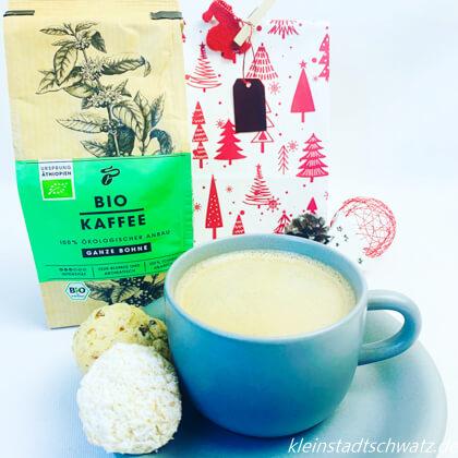 Tchibo Bio Kaffee schmeckt zu frisch gebackenen Plätzchen