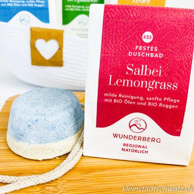 Festes Duschgel Salbei Lemongrass