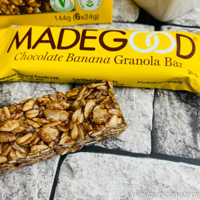 Made Good Schoko Banane Granola Riegel