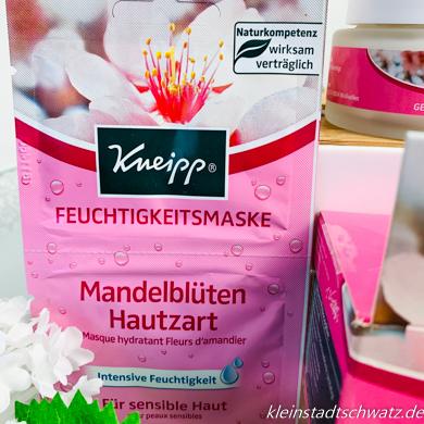 Mandelblüten Hautzart Feuchtigkeitsmaske von Kneipp