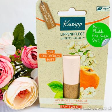 Kneipp Lippenpflege Samtweich mit Paper Blend Kappe