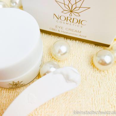 Nordic Cosmetics Augencreme mit CBD und Hyaluronsäure