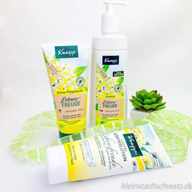 Kneipp Lebensfreude Aroma-Pflegedusche, Leichte Körperlotion und Handseife