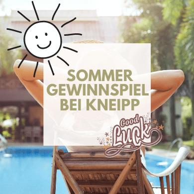 Kneipp Sommer Gewinnspiel