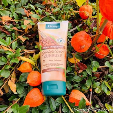 Kneipp Herbstneuheiten Aroma-Pflegedusche Genieße dein Zuhause
