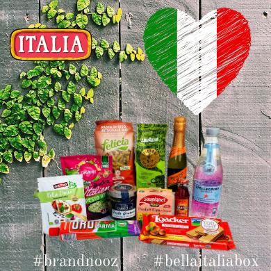 Inhalt der brandnooz Themen Box Bella Italia