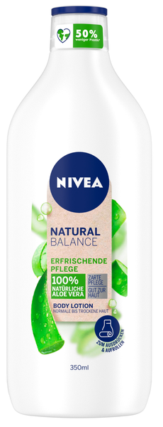 Natural Balance Body Lotion Erfrischende Aloe Vera