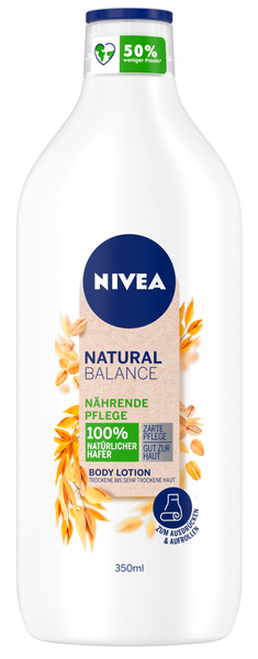 Natural Balance Body Lotion Nährender Hafer
