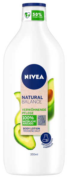 Natural Balance Body Lotion Verwöhnende Avocado
