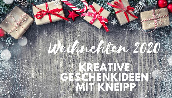 Kreative Geschenkideen mit Kneipp