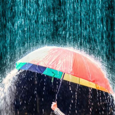 Gehwol Regenzeit -Dancing in the Rain